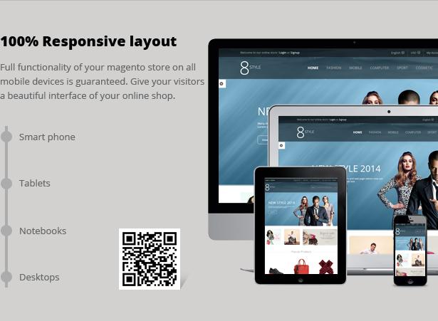 SNS I8style - Responsive Magento Theme