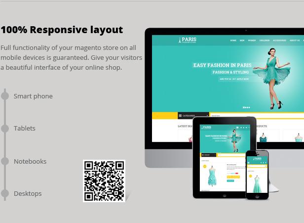 SNS Paris - Premium Responsive Magento Theme