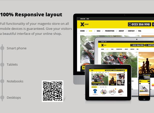 SNS Xsport - Premium Responsive Magento Theme
