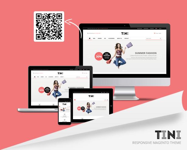 SNS Tini - Premium Responsive Magento Theme