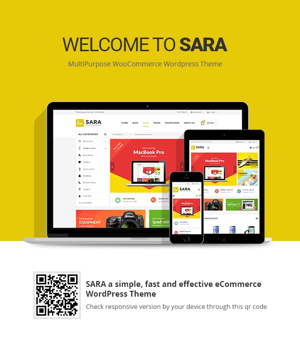 Sara - WooCommerce WordPress Market Theme - 1  Download Sara – WooCommerce WordPress Market Theme nulled 01 responsive