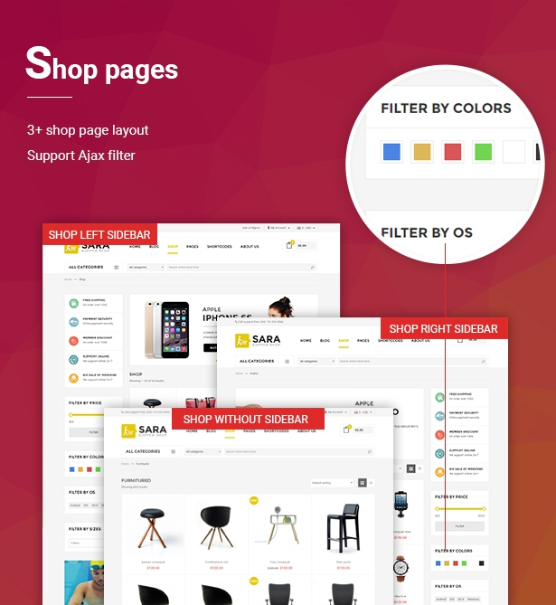 Sara - WooCommerce WordPress Market Theme - 4  Download Sara – WooCommerce WordPress Market Theme nulled 04 Shoppages