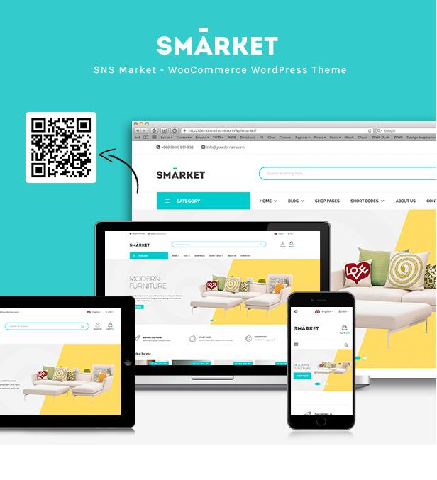 SNS Market - WooCommerce WordPress Theme - 3