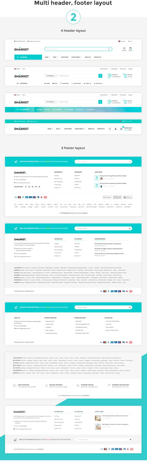 SNS Market - WooCommerce WordPress Theme - 5